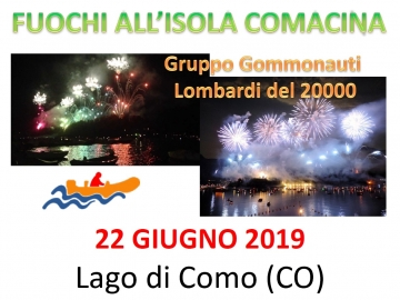 Fuochi all'isola Comacina by GGL20000